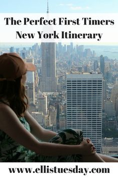 things to do in New York City - first time/timers itinerary