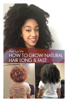 How I grew Healthier, Fuller, Longer Hair with All Natural Ingredients! And Im Not Alone: See Why Reported Healthier Hair After Using Hair La Vie Natural Hair Care Tips, How To Grow Natural Hair, Natural Hair Growth, Natural Hair Journey, Natural Hair Styles, Black Hair Growth, Longer Hair Faster, Pelo Natural, Hair Breakage