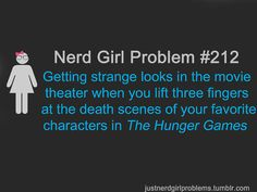 Nerd Girl Problems.