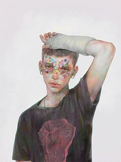 Hi (非) is an artist living and working in Japan. His digital paintings demonstrate remarkable skill, eerie portraits of androgynous male youths render...