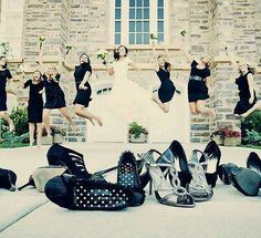 "Great wedding pic idea. I imagine the caption now, ""Aahhh!"" Lol. :D"