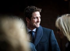 Gerard Butler in Oslo for the Nobel Peace Awards. December 2012