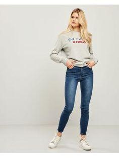 ΠΑΝΤΕΛΟΝΙ JEAN SKINNY Spring Summer, Skinny Jeans, Pants, Collection, Fashion, Trouser Pants, Moda, Fashion Styles, Women's Pants