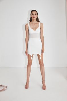Short White Dress