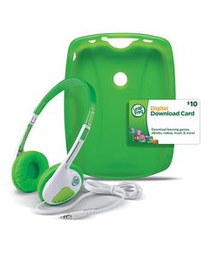 Love this Green LeapPad Protect & Play Accessories Set on #zulily! #zulilyfinds