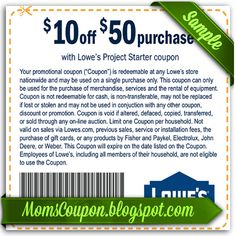 lowes printable coupon 10 off 25 february 2015 local coupons store coupons online coupons