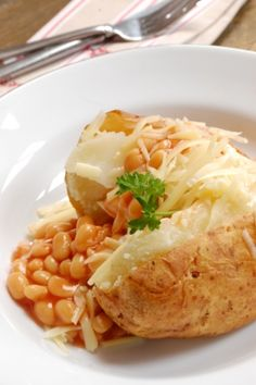 Jacket potato, pretty much the only thing I can currently make.