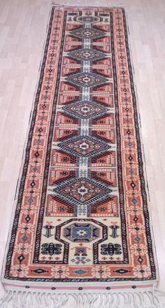 Handwoven Nomadic Rug Runner 11.58 X 2.64 ft Runner Rug Klim Rug Turkish Kilim Kilim Rugs Area Rugs Kilim Rugs for Living Room Rugsnrunners