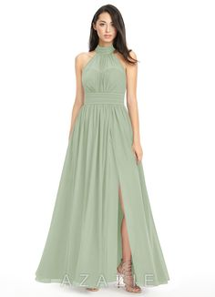 5b700947dcf Shop Azazie Bridesmaid Dress - Iman in Chiffon. Find the perfect made-to-