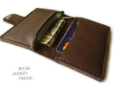 Handmade Leather Wallet distressed leather от MyLeatherCase