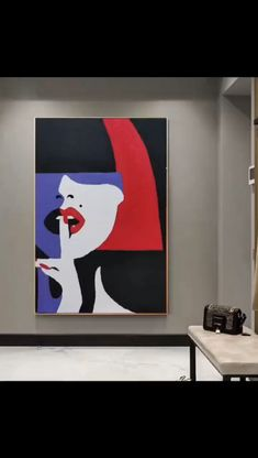 Easy Canvas Art, Small Canvas Art, Diy Canvas, Easy Art, Modern Canvas Art, Canvas Painting Tutorials, Diy Painting, Large Painting, Painting Flowers