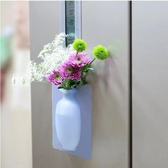 Vase volume is small and portable, do not suffer dimensional limitation. Nanoscale polymer material, non-to Glass Door, Glass Vase, Minnie Mouse Cake Topper, Cool Inventions, Free Coloring, Flower Vases, Things To Buy, Kitchen Decor, Kitchen Design
