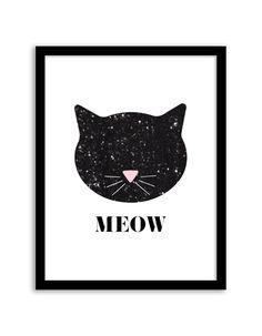 free printable meow