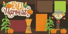 Fall Harvest Page Kit