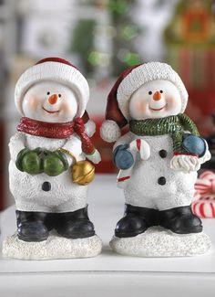 HAVING FUN SNOWMAN BUDDIES