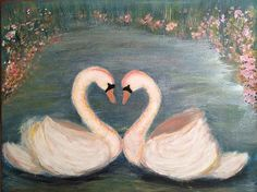 Forever Yours by Sara Maria Vivanco #swans