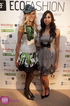 HoyModaTV en Ecofashion. Moda y tejidos 100% ecológicos.