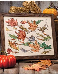 Four Seasons of Cross Stitch - House Mouse Designs