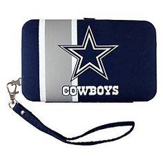 Dallas Cowboys Shell Wristlet