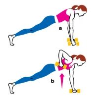 Core Exercises: Trim and Tone Your Waistline; Work your entire core and banish that muffin top with these abs exercises