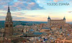 Tenemos diferentes ciudades para que estudies en la Madre Patria, entra ellas esta Toledo capital de la provincia que lleva el mismo nombre.