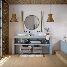 Charlton Home Design by with Images Teal Bathroom Decor, Bathroom Decor Pictures, Bathroom Ideas, Background Tile, Chic Bathrooms, Shabby Chic Decor, House Design, House Styles, Interior