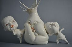 Johnson Tsang is a talented sculptor based in Hong Kong who creates amazingly realistic ceramic sculptures.