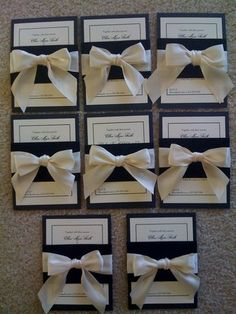 Burlap invitations... Christie hope you are practicing your burlap skills