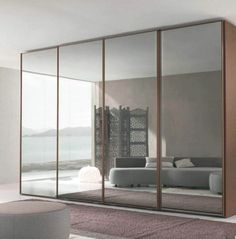 So, let us take a look at the bedroom spaces with armoire below. Checkout our latest collection of 20 Bedroom Armoire Design Ideas to Get Inspired. Folding Closet Doors, Closet Mirror, Bedroom Closet Doors, Mirror Closet Doors, Barn Door Closet, Barn Doors, Mirror Door, Wardrobe With Mirror, Mirrored Wardrobe Doors
