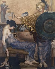 William Russell Flint-Homer's Odyssey