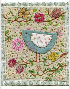 Free Motion Embroidery, Embroidery Stitches, Embroidery Patterns, Quilt Patterns, Machine Embroidery, Embroidery Applique, Bird Applique, Quilting Templates, Applique Ideas