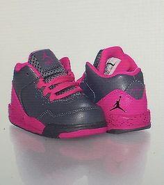 05427805d8b LITTLE GIRLS JORDAN FLIGHT ORIGIN 2 BASKETBALL TODDLER SIZE 8 NIB Little  Girl Shoes