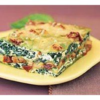 Spinach lasagna from Mayo Clinic