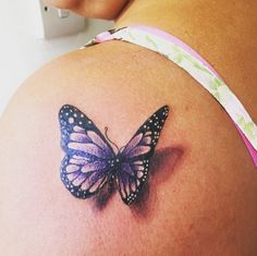 amazing butterfly tattoo #ink #YouQueen #girly #tattoos