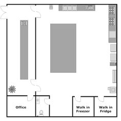 Restaurant Kitchen Layout Templates floor plan study of the coffee shop | interior design : coffee
