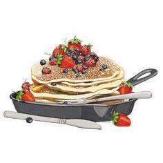 Lovely Pancakes Illustration