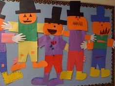 Crayon Bits - a first grade blog: Scarecrow Fun...
