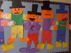 Crayon Bits - a first grade blog: Scarecrow Fun...