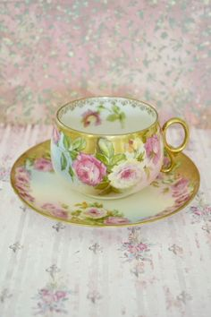 Stunning Antique Royal Vienna Teacup and Saucer for sale now at Jennelise Rose Etsy