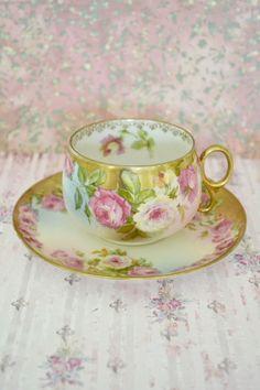 Royal Vienna Teacup and Saucer