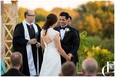 Cedar Ridge Winery fall wedding. Photography by Emily Crall.