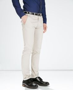 ZARA - MAN - STRETCH TROUSERS