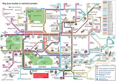 transit maps official map key bus routes in central london