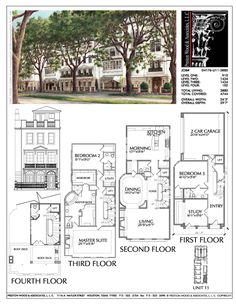Townhome Plan D4176 u11