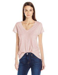 d51b4cef50 Velvet by Graham   Spencer Women s Originals V-Neck T-Shirt - White -