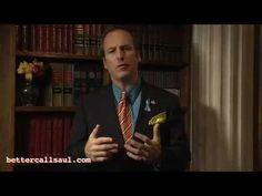 Wayfarer We're All Victims (A Message From Saul) - Better Call Saul Webisode Saul Goodman, Call Saul, Falling From The Sky, Lawyers, Breaking Bad, Wayfarer, Hilarious, Messages, Tv