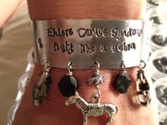 EhlersDanlos Syndrome Fight like a zebra  hand by shaeleigh, $38.00