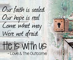 we can trust our god | We Can Trust Our God