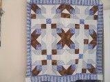 flower trellis star quilt with tutorial