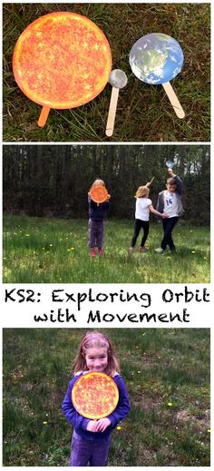 Exploring orbit with movement:a fun activity for KS2 #LearningIsFun